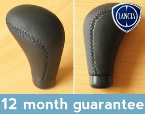 Faux-Leather-Gear-Knob-Lancia-Monte-Carlo-MUSA-Phedra-Prisma-Thema-Thesis-Trevi