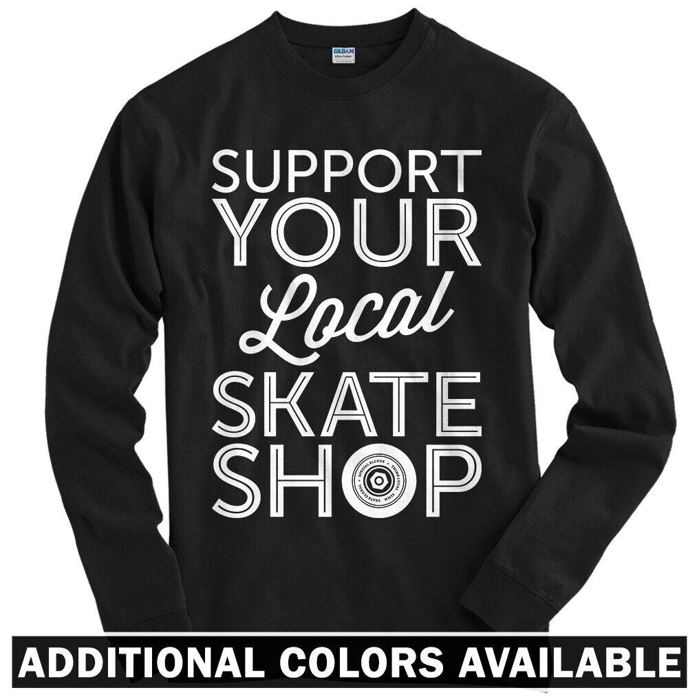 Youth Skateboard Skater ComfortSoft Long Sleeve Shirt