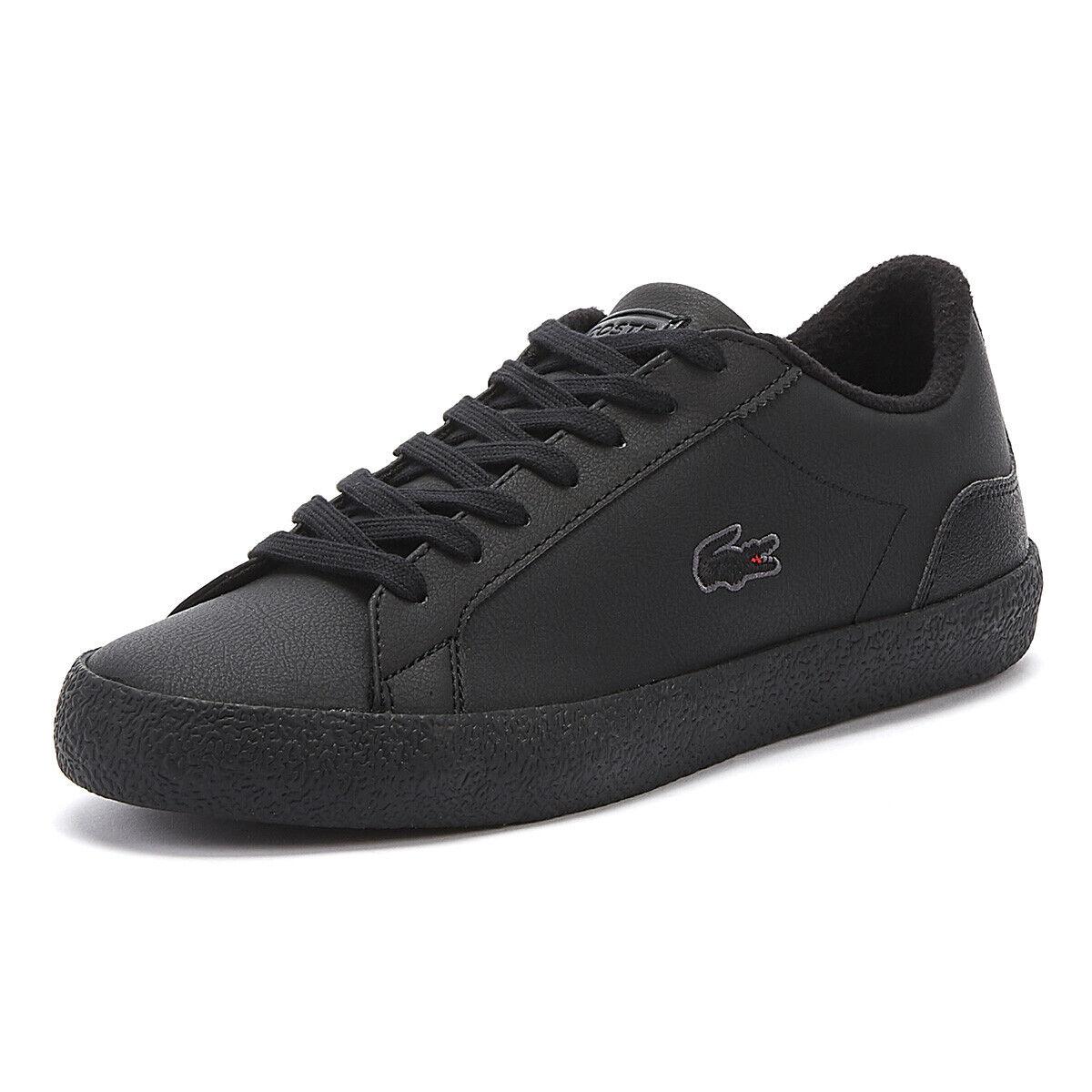 Lacoste Lerond 319 6 Homme Noir paniers à Lacets Sport Chaussures De Loisirs