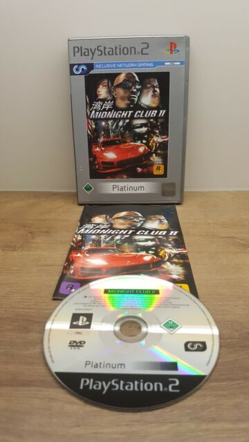 Midnight Club II 2  (PS2 Platinum) In Box, mit Anleitung
