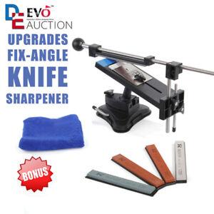 Küche Messerschleifer Messerschärfer Sharpener Fixed-Winkel mit 4 Schleifstein..