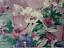 "Rare Discontinued CROSCILL Large Plum Painterly Lined Window Valance  90/""x14.5/"""