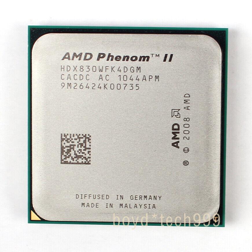Amd Phenom Ii X4 830 2 8ghz Quad Core Hdx830wfk4dgm Processor For Sale Online Ebay