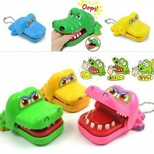 Cute Crocodile Mouth Dentist Bite Finger Game Funny Toy Kids Children Xmas Gift