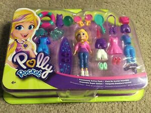New Polly Pocket Fiercely Fab Studio Pack Toy Pretend Play