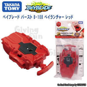 Genuine Takara Tomy Beyblade Burst B 108 Bey Launcher Red Right Toy
