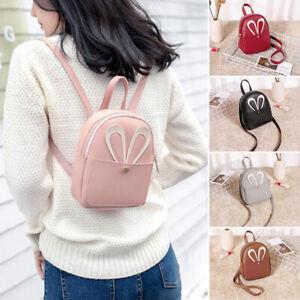 Rabbit-Ear-Mini-Backpack-Sling-Bag-PU-Leather-Bag-Casual-Crossbody-Bag-Handb-YAN