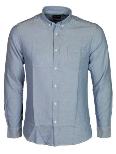 Hommes Casual Slim chemise à manches longues Only /& Sons Alvaro en bleu blanc couleurs S-XL