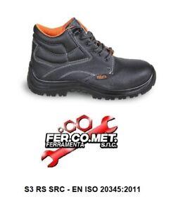 SCARPA-ANTINFORTUNISTICA-BETA-WORK-7243-E-S3-PELLE-IDROREPELLENTE