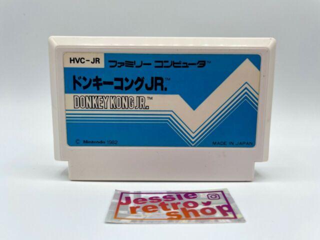 Donkey Kong Jr. Pulse Label Nintendo Famicom NES Japan Import Tested US Seller