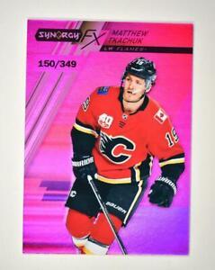 2020-21 UD Synergy FX Purple #FX-9 Matthew Tkachuk /349 - Calgary Flames