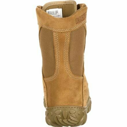 Rocky Hot Weather Coyote Military Boot Soft Toe CLOSEOUT