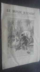 Journal Semanal El Monde Demuestra N º 1692 M. E. Hubert 31 Agosto 1889 ABE