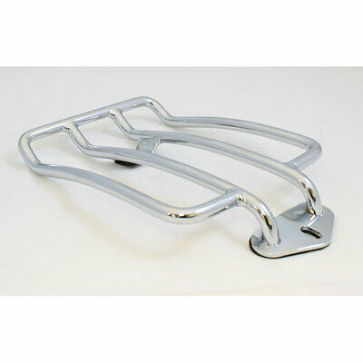 Chrome Solo Seat Luggage Rack For 04-2015 Harley Davidson Sportster 883 XL1200