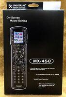 Urc Universal Remote Mx450 Multibrand Remote W/ One-touch Operation Mx-450
