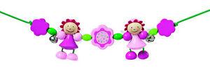 Rosali-wagenkette Selecta 1355 Kinderwagenkette Babyspielzeug Holzpielzeug Ein Unbestimmt Neues Erscheinungsbild GewäHrleisten Holzspielzeug
