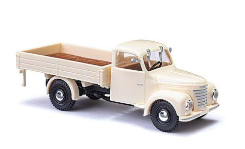 auto modelo 1:87 beige h0 Busch 52300 framo v901//2 con camastro
