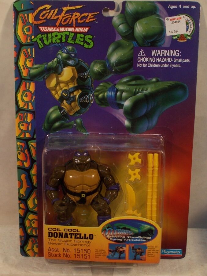 Teenage Mutant Ninja Turtles TMNT Coil Force Coil Cool Donatello 1998 Don (MOC)