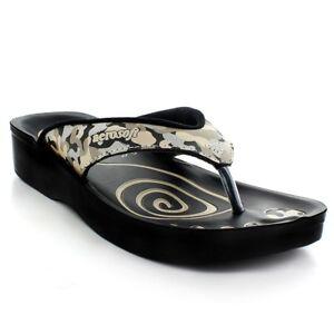 43d2b14389a Image is loading Aerosoft-Cream-Camo-Comfortable-Footwear-Sandals-A-0808
