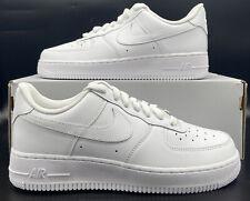 Nike Air Force 1 '07 Retro Sneakers Triple White DD8959-100 Womens Size