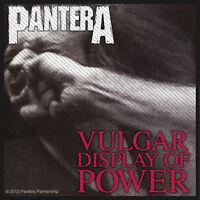 PANTERA - Vulgar Display Of Power - PATCH