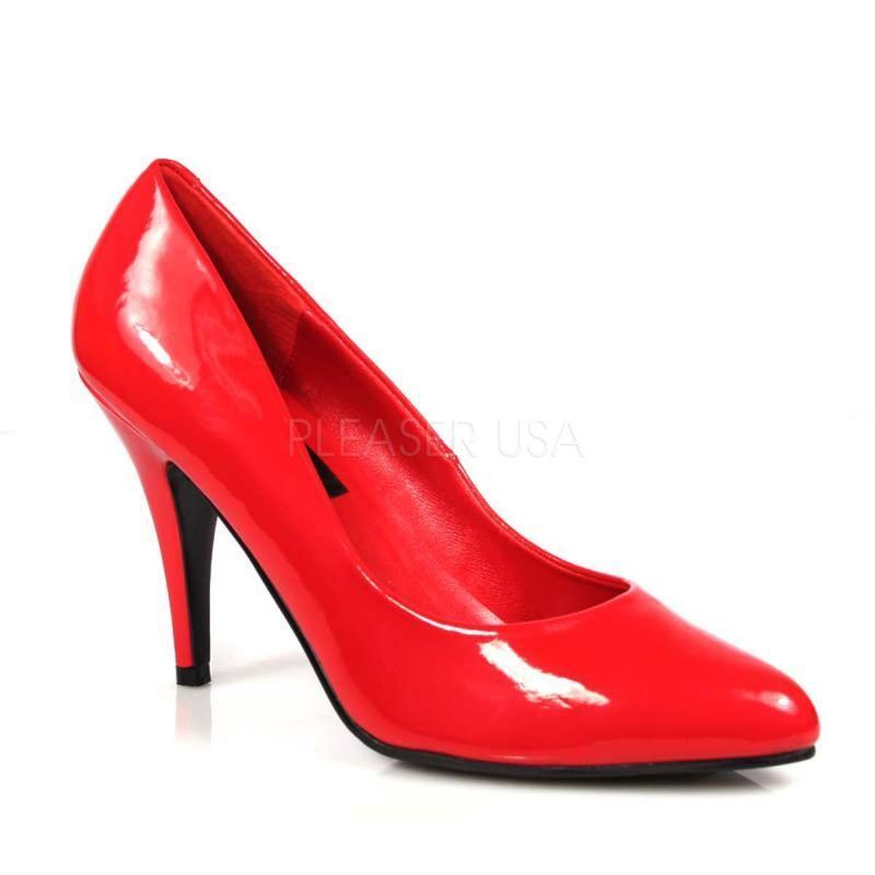 PLEASER VANITY-420 Pumps Rot Lack Abendschuh Party Disco Tabledance Tabledance Disco Gogo Sexy .. 200161