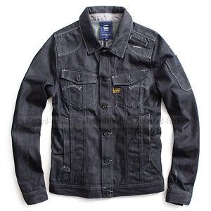 g star raw radar cure denim jeans jacket blazer vest size. Black Bedroom Furniture Sets. Home Design Ideas