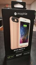 IPHONE 7 PLUS Mophie Juice Pack Air ROSE GOLD - Battery Case + WIRELESS CHARGING