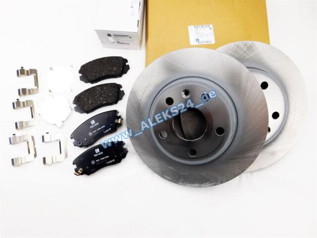 GM Original Vauxhall Set Discs + PADS FRONT AXLE OPEL INSIGNIA 95516089