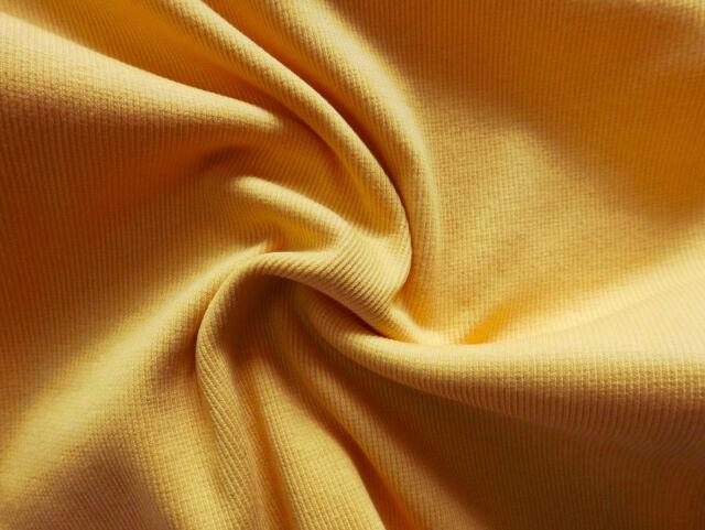 Jersey Bündchenstoff Bündchen Feinripp Baumwolle elastic Schlauchware 25x60cm