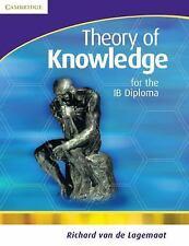 Theory of Knowledge for the IB Diploma Lagemaat, Richard van de Paperback
