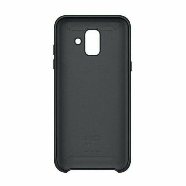 wholesale dealer dcf30 b1139 Samsung Dual Layer Cover for Galaxy A6 2018 Black