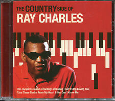 THE COUNTRY SIDE OF RAY CHARLES CD - BYE BYE LOVE, HALF AS MUCH & MORE