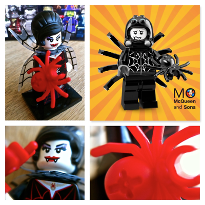 Series 18 New SPIDER SUIT BOY  minifigure LEGO 71021