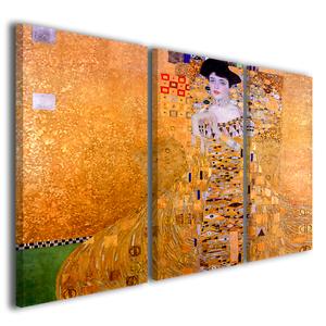 Quadri Gustav Klimt Ritratto di Adele Bloch Bauer stampe su tela Popper
