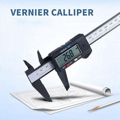 "6/"" Digital Electronic Vernier Caliper Plastic Micrometer Measuring Gauge"