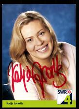 Katja Jorwitz SWR Autogrammkarte Original Signiert ## BC 37927