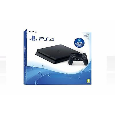 PS4 CONSOLE 500GB SLIM + PS LIVE CARD 10€ - PLAYSTATION 4 SONY D CHASSIS ITA