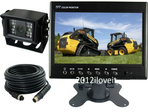 """7/"""" REAR VIEW BACKUP CAMERA CAB OBSERVATION SYSTEM FOR AGRICULTURE EQUIPMENTS"""