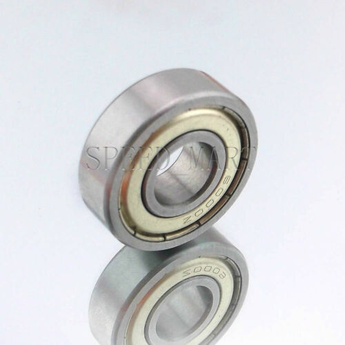 1PCS 6001ZZ Deep Groove Metal Double Shielded Ball Bearing 12mm*28mm*8mm