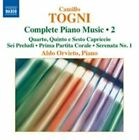 Camillo Togni: Complete Piano Music, Vol. 2 (2014)