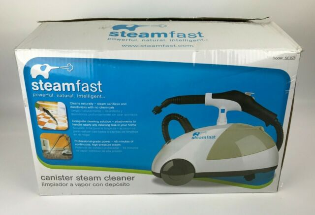 Heavy Duty Canister Steam Cleaner Steamfast Sf 275 Portable Floor