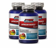 African Mango. Sport Supplements. Immune System Support (3 Bottles,180 Capsules)