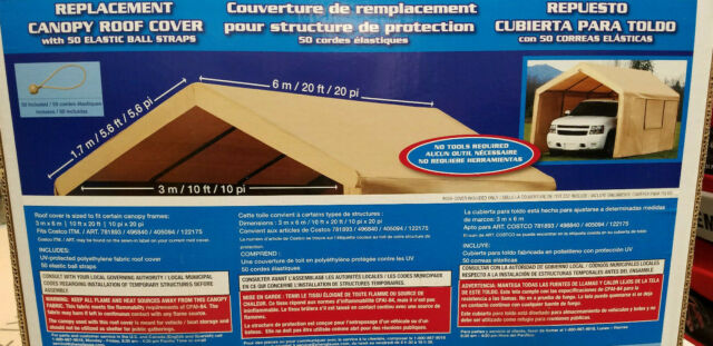 Costco 10 X 20 Foot Heavy Duty Canopy Replacement Top Cover Only New Last One For Sale Online
