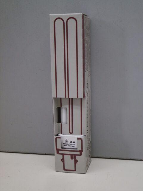 10 x  26W GE F26DBX//835 S//White 4-Pin G24q-3 Fluorescent Light Bulb Lamp Job Lot
