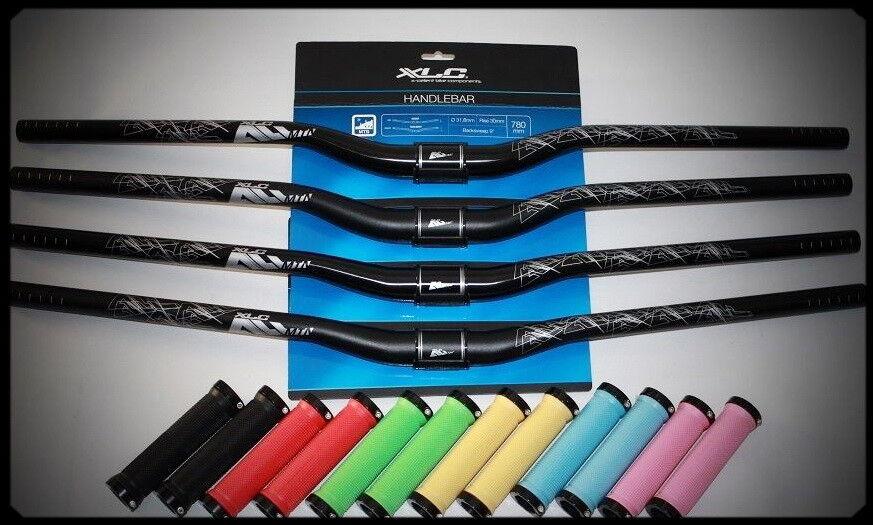 XLC Lenker All MTN Riser-Bar HB-M19 780mm 15 30mm schwarz glanz matt inkl.Griffe