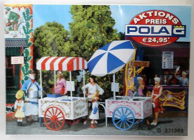 Cooperativa Pola-faller G 331989 Eiswagen Popcorn Macchina Lgb Modello-mostra Il Titolo Originale Prevenire I Capelli Da Ingrigire E Utile Per Mantenere La Carnagione