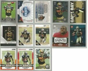Mark-Ingram-New-Orleans-Saints-Alabama-13-card-2011-RC-lot-all-different
