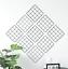 Multi-Function-Metal-Mesh-Grid-Panel-Photo-Wall-Decor-Hook-Art-Display-Shelf miniature 1