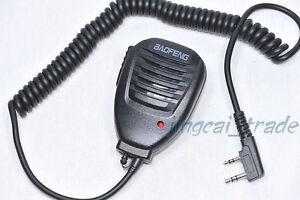 Resistente-Palmare-Spalla-microfono-altoparlante-per-BaoFeng-UV-5R-Kenwood